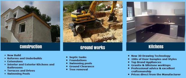 Ccm quality services construction property maintenance costa blanca builders in javea spain - Church kitchens benissa ...